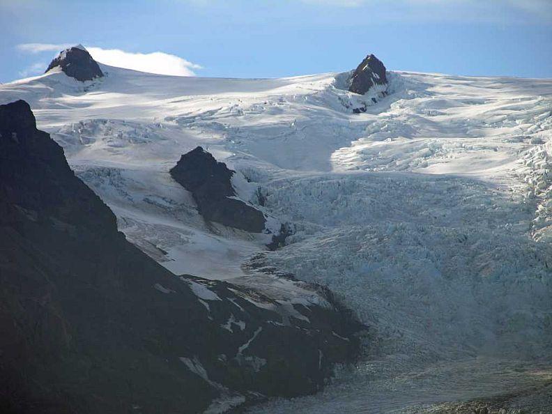 Icefall on Hvannadalshnukur