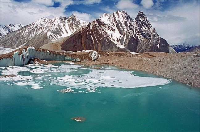 The Baltoro Glacier