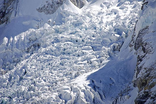 The Khumbu Icefall