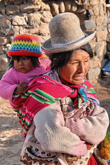 Peruvian woman