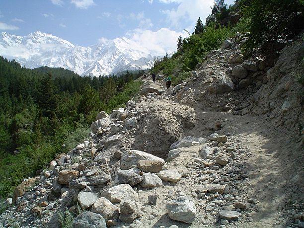 Trail to Nanga Parbat