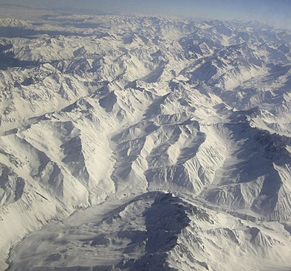 Andes from Above