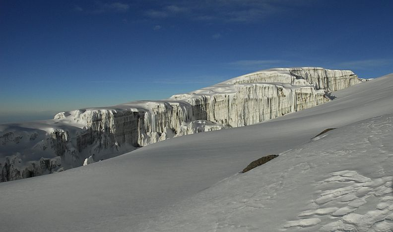 South Glacier on Kilimanjaro